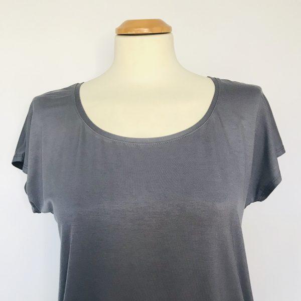 Damenshirt Bambus grau